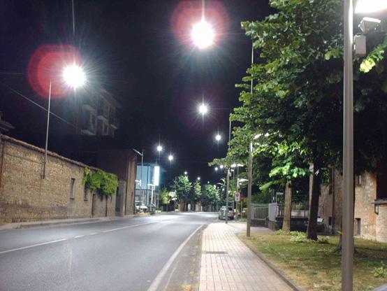 illuminazione strade