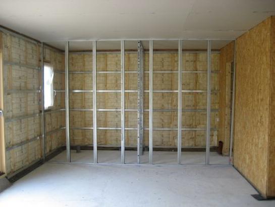 Come si costruisce una parete in cartongesso stilopolis - Pareti fai da te ...