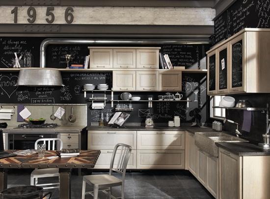 vintage style, la nuova collezione di cucine by marchi group ... - Arredamento Industriale Casa