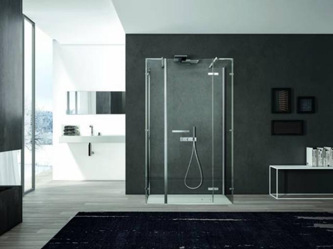 Smart i nuovi box doccia by disenia stilopolis - Box doccia design minimale ...
