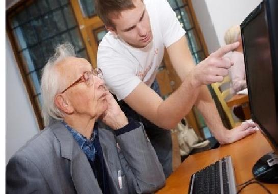 nonni e studenti