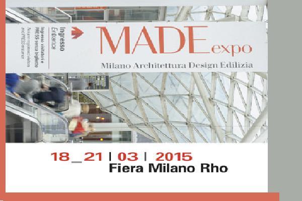 Sta per aprirsi a rho la made expo fiera milano stilopolis for Expo fiera milano