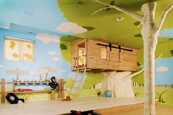 La camera dei bambini: idea di decorazione dallAI.BI – Stilopolis