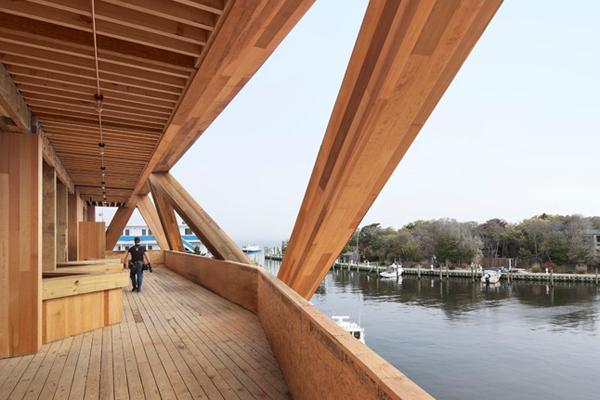 La casa di cedro di fire island pines stilopolis for Cedro agitare piani di casa