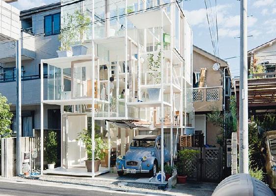 Il castello di vetro chiamato house na stilopolis for Casa di vetro contemporanea