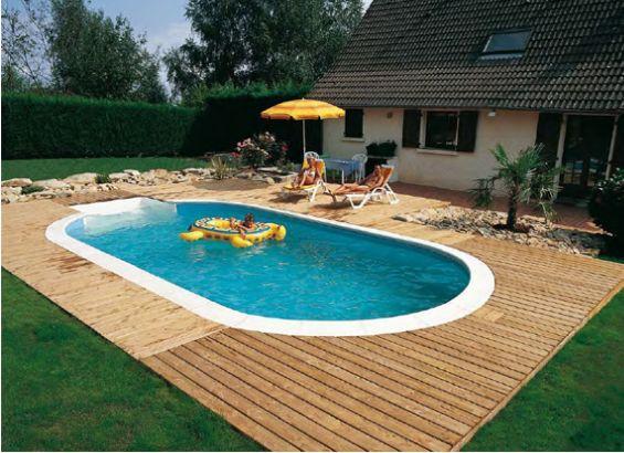 Awesome gallery of piscine ecco le proposte per la casa with piccole piscine with piscine da - Piccole piscine da giardino ...