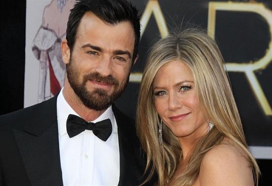 Jennifer Aniston e Justin Theroux.matrimonio